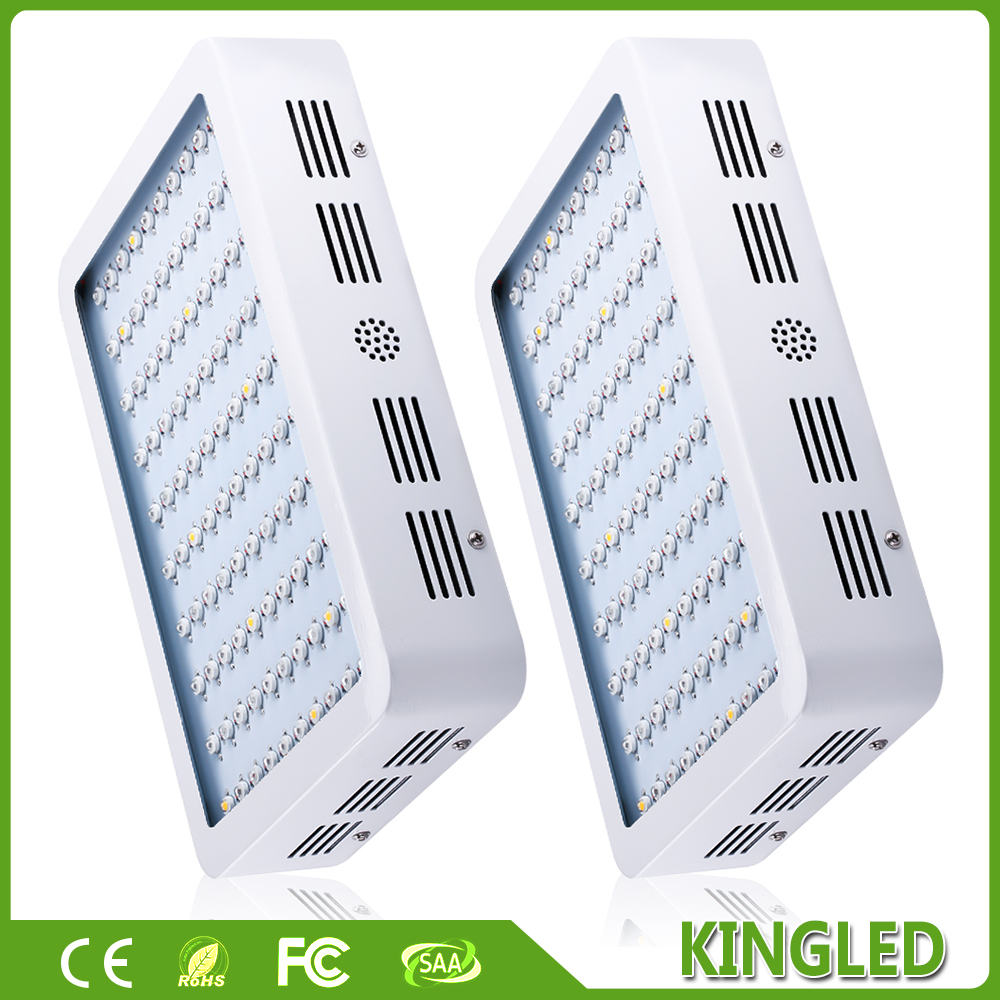 2PCS KingLED 300W Full Specturm LED Grow light Medical Flower Plants Growing and Flowering Indoor Grow Lights(China (Mainland))