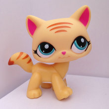 Pet Shop Animal Doll LPS Figure Child Toy Gril Cat DWA221(China (Mainland))