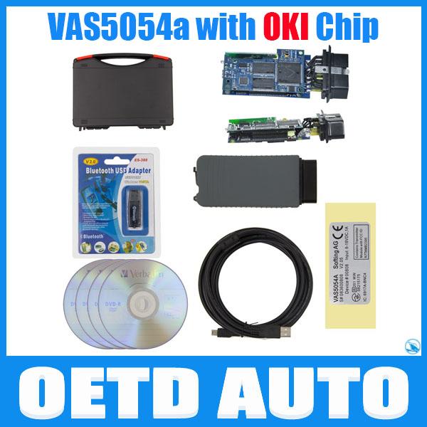 Фотография Hot sale VAS 5054a Bluetooth with OKI Chip VAS5054 ODIS v2.2.6 Diagnostic scanner vas5054a Bluetooth Support UDS Protocol