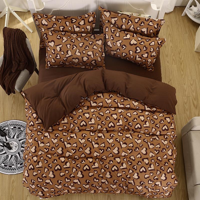 achetez en gros l opard ensemble de literie en ligne des grossistes l opard ensemble de. Black Bedroom Furniture Sets. Home Design Ideas