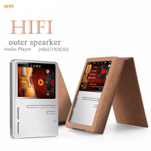 ONN KING-X6 Full Metal HIFI Lossless MP3 Music Player Build in 1200mAh Lithium Battery with Voice Recorder FM Radio Games Ebook