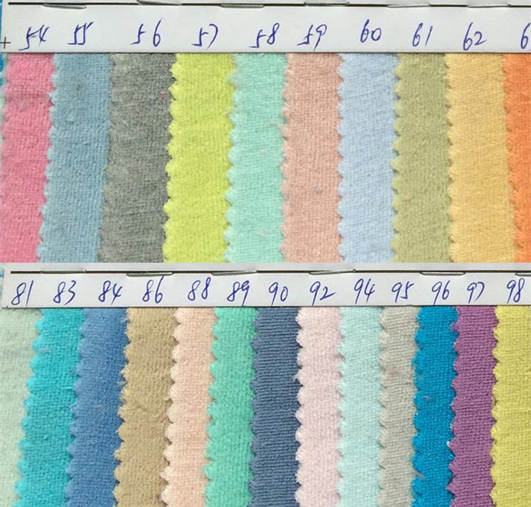 factory wholesale CVC velvet / cotton Velvety / polyester imitation cotton Velvety / Toys composite flannel(China (Mainland))