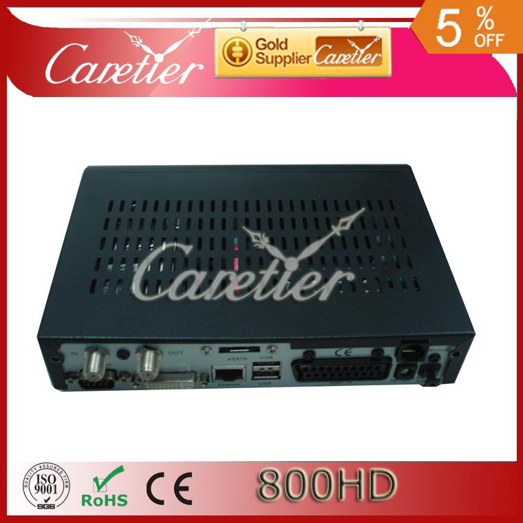 5pcs/lot Digital Satellite TV Receiver Set top box dm800hd pvr m tuner Version dvb 800 hd Pro(5pcs 800hd)(China (Mainland))