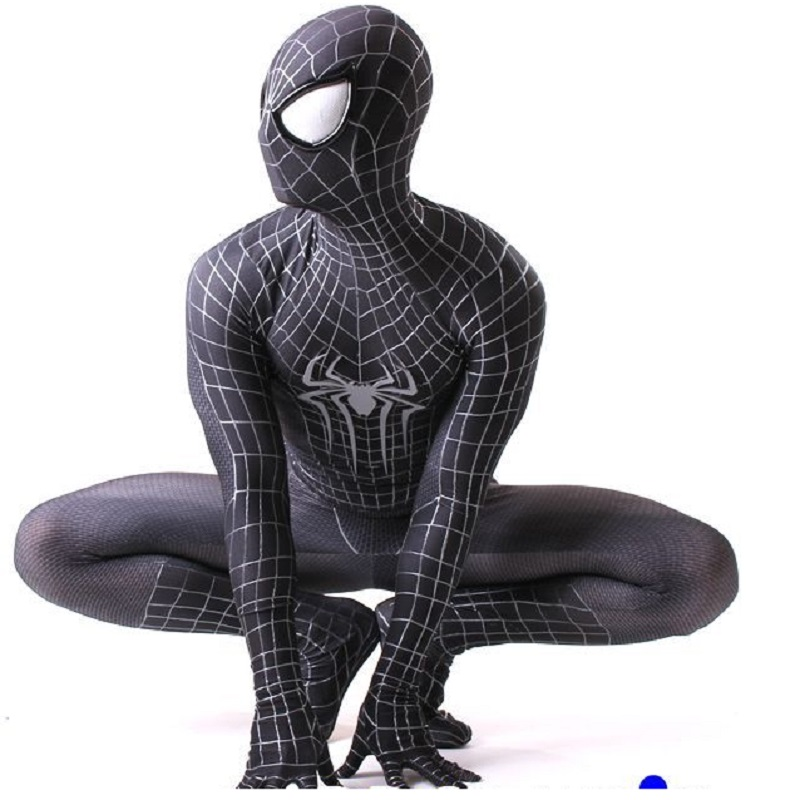 spider man suit spandex clothing onesie lycra civil war