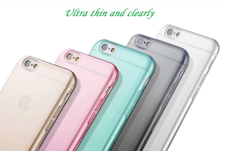 For iPhone 4S Soft Clear Cases 0.33MM Super Slim TPU Gel Silicon Phone Case For iPhone 4 4s Ultra Thin Transparent Cover Bags(China (Mainland))