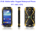 original Walike Talkie Rugged IP68 Waterproof phone Smartphone Android 4 4 Kitkat MTK6582 LEMHoov L15 NFC