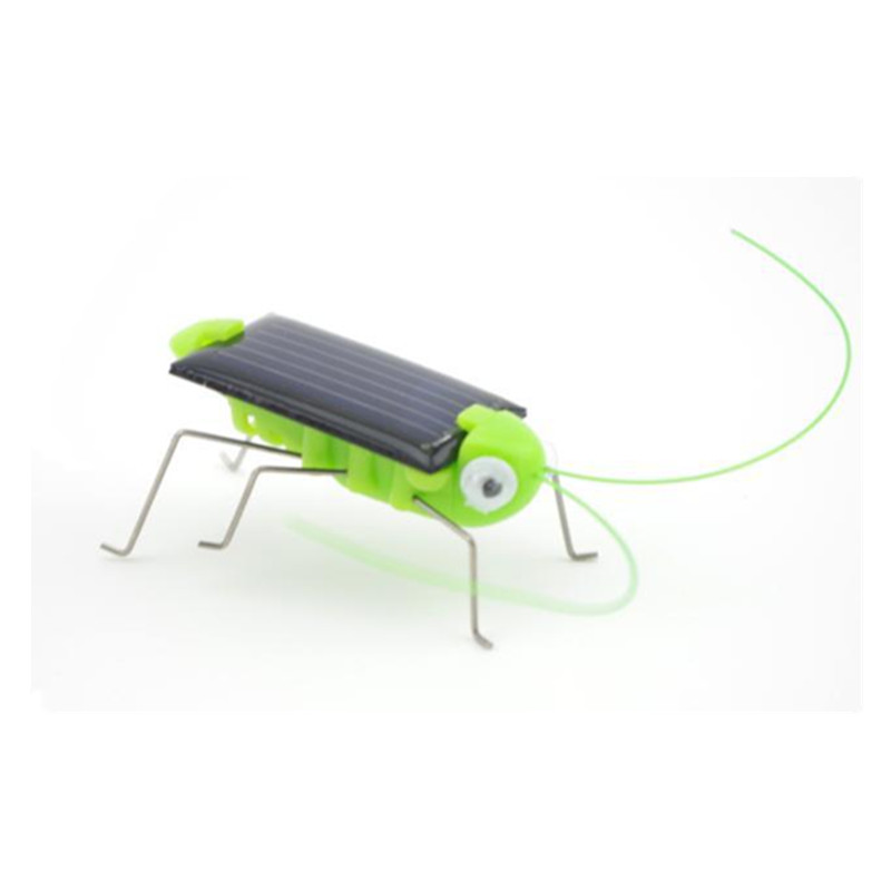 Funny!! New Arrival Grasshopper Model Solar Toy Children Outside Toy Kids Educational Toy Gifts(China (Mainland))