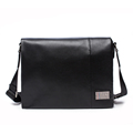 UniCalling brand men horizontal leather cover messenger bag with card slots key ring men casual fashion