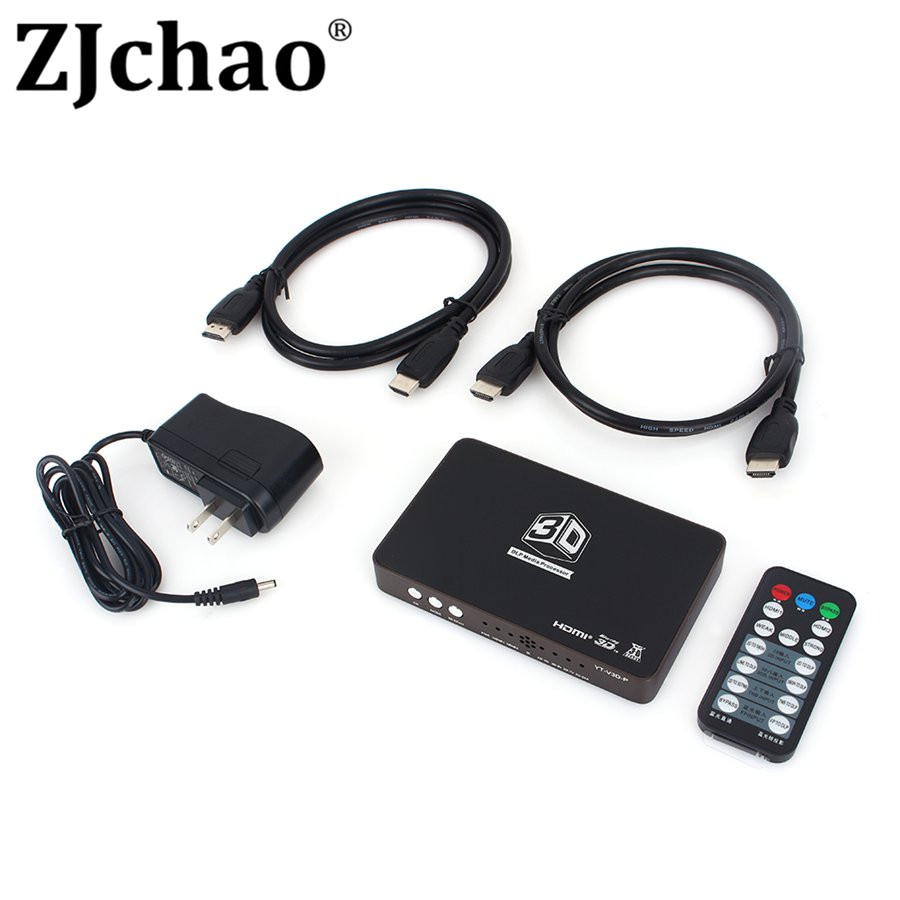 2D to 3D HDMI Video Converter Box HD 1080P 720P 3D DLP Projector Media Processor Support HDMI 1 Out and 2 In For 3D TV Games(China (Mainland))