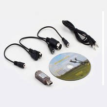 Best seller Free Shipping New All 20in1 Flight Simulator Cable USB Dongle for RC Helicopter Aeroplane Car Mar16(China (Mainland))