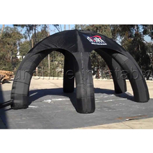 Buy Top oxford 6m cool black inflatable dome tent legs outdoor commercial use for $640.00 in AliExpress store