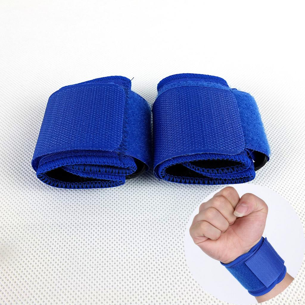 1Pair=2pcs wrist protect bracer sport wrist wrap sports product comfortable fit great holding power bracer 2colors available(China (Mainland))