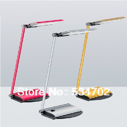 reading light Eye protection Foldable LED desk Lamp with USB charging plug can be powered by  computer or Portable Power Supply