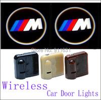 2PCS 9TH Car Led Door Lights For BMW M E34 E36 E39 E46 Car Logo Door Lights Car Projector Welcome Projector Shadow Light #E112B