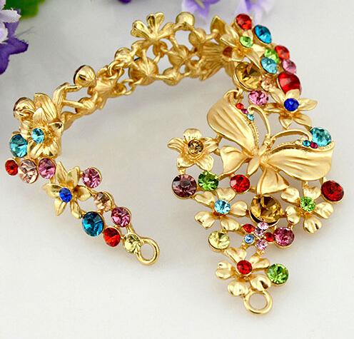 TS099 summer style bridal headdress font b Asian b font gold vintage font b hair b