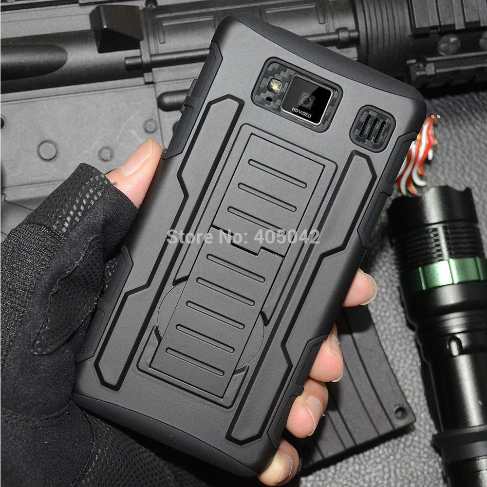 For Motorola Droid Razr HD XT925 XT926 Hybrid Protective Armor Case Cover Holster Belt Clip BK(China (Mainland))