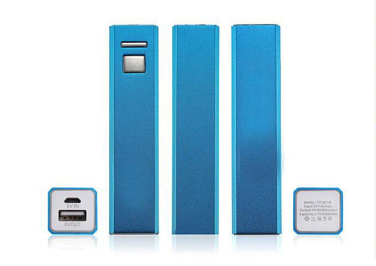5pcs/lot 2600mAh Power Bank External Portable Phone Battery Charger powerbank for  iphone6 5 5s mobilephone(China (Mainland))