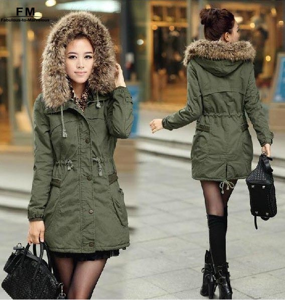 Cheap Designer Parka Coats - Black Coat