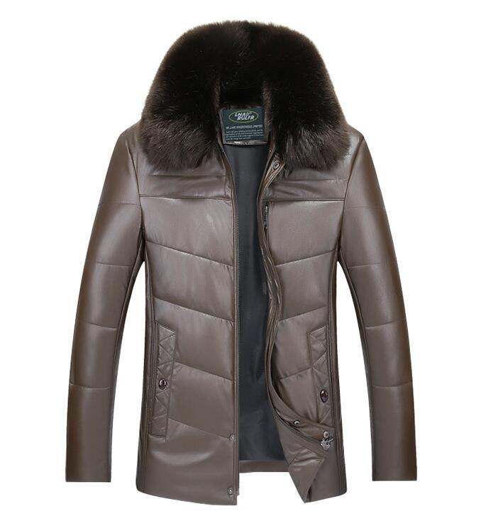 winter men plus size M-3XL keep warm jacket with fur collar men thicken casul leather cotton-padded coats masculinity clothesОдежда и ак�е��уары<br><br><br>Aliexpress
