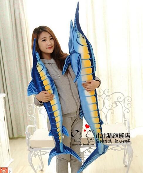 large about 100cm tuna plush toy tunny fish doll , birthday gift w7259