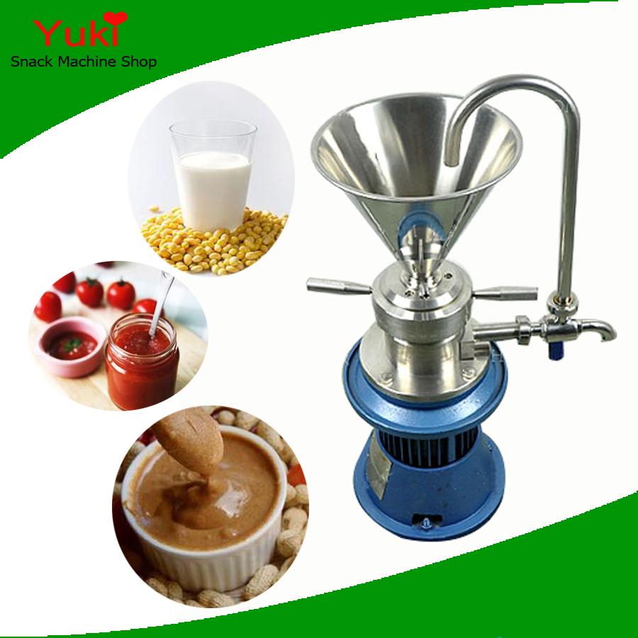 2016 Commercial Soymilk Maker Soya Milk Machine Nut Butter Machine Chilli Paste Grinding Machine Peanut Butter Machine(China (Mainland))