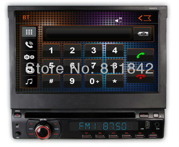 7 Inch Dashboard dvd player Car One Din DVD with CD/USB/SD functon,Detachable,Mp3,Mp4,USB,SD