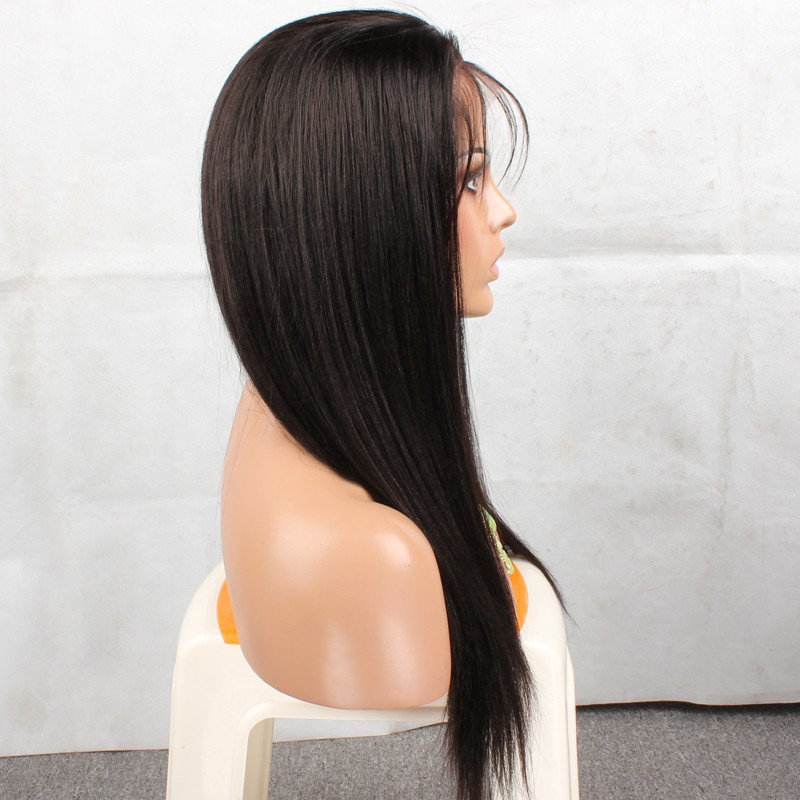 human hair wigs silky straight human hair lace front wigs black women full lace human hair wigs for black women<br><br>Aliexpress