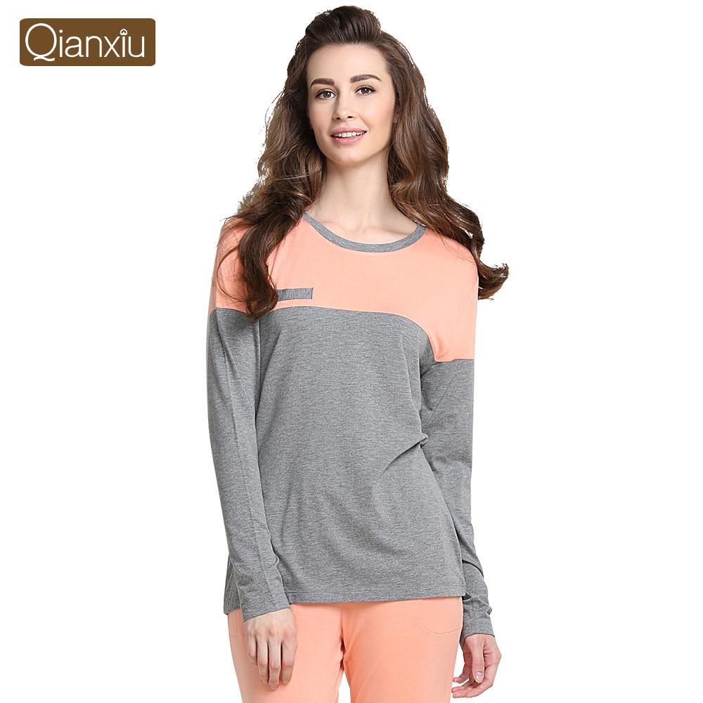 Buy Pajamas Women Luxurious Silk Satin Love Sleepwear Men ...
