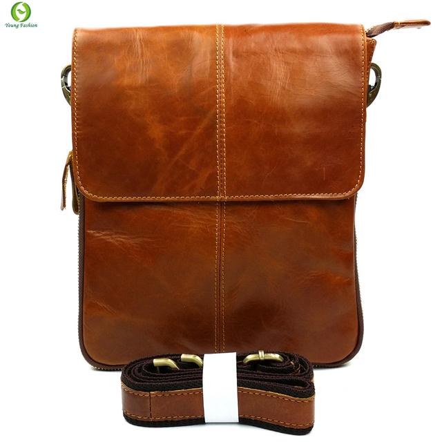 100% гарантия натуральная кожаная сумка высокое качество природный коускин мужчины ...