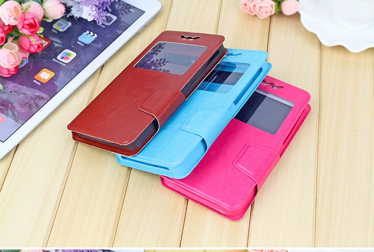 Big Window Drawer Design Silicone Magnetic Clasp Mobile Phone Universal Case 3.5-6.0 inch for iPhone/Sumsung/Huawei/LG/THC/Nokia