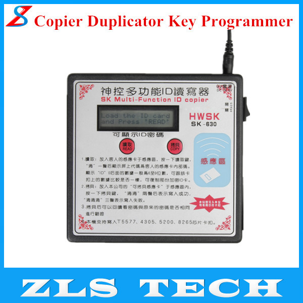 2015 SK-630 Multi-Function RFID Card Copier Duplicator Key Programmer Chinese Version with Free Shipping(China (Mainland))