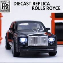 1:32 Scale Collectible Diecast Rolls Royce Models, Alloy Car, Metal Toys For Children As Gift With Sound/Light/Pull Back Fuction(China (Mainland))