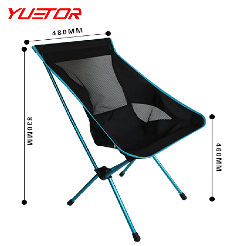 Brand YUETOR NEW Camping  fishing Chair Portable Lightweight Foldable For Fishing stool sketching park BBQ Beach leisure chari<br><br>Aliexpress