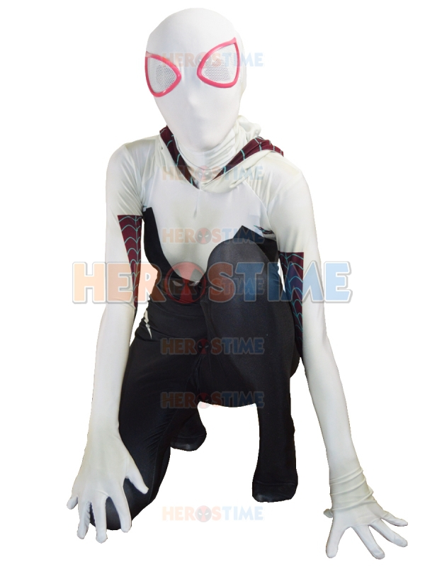 Gwen Stacy Costume The Superior Spider-Man Costume Spandex halloween cosplay spiderman costume hot sale free shippingОдежда и ак�е��уары<br><br><br>Aliexpress