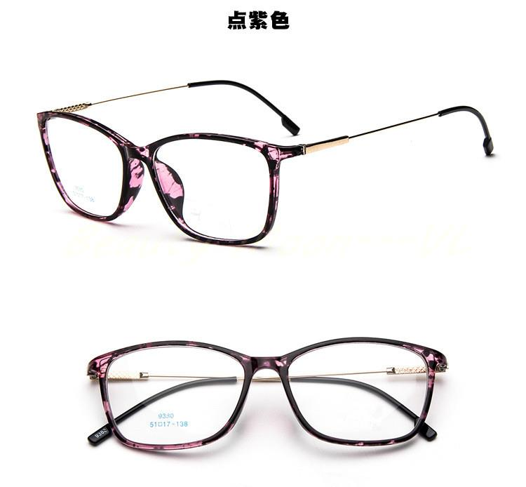 Eyeglass Frames Square : New-ultra-light-square-eyeglass-frame-big-box-glasses ...