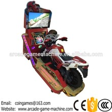 Very Nice Amusement Park Equipment Kids Coin Operated Game Machine Electric Motorcycle 3D Moto Motorbike Video Kiddie Rides(China (Mainland))