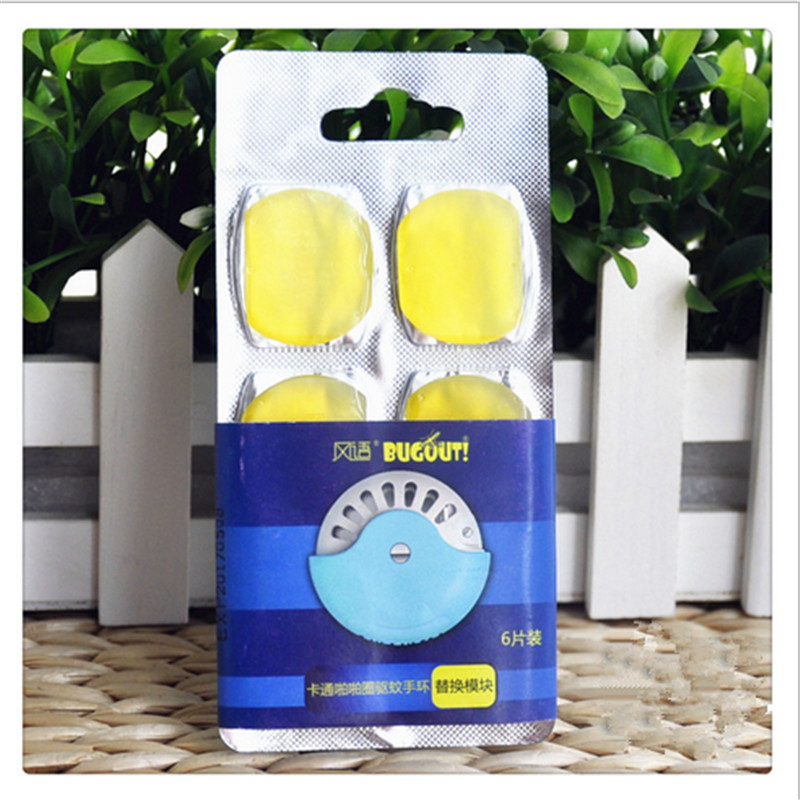 6X Summer Repellent Tablets Mosquito Killer Film For Plant Wristband Tablets Anti Mosquito Repeller Non Toxic Natural For Baby(China (Mainland))