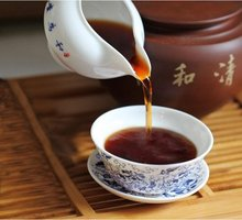 1998 year LaoChaTou Puerh 4oz Old Tea Tugget 100g Aged Loose pu er Pu er PL01