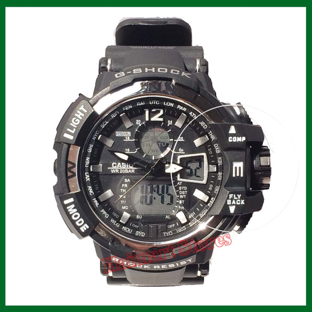 Military grade anti shock film for casio watch g shock analogue digital heavy duty gents rugged for Military grade watches