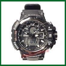 Military Grade Anti-Shock Film for Casio Watch G-Shock Analogue Digital Heavy Duty Gents Rugged Analogue Watch Long Battery Life