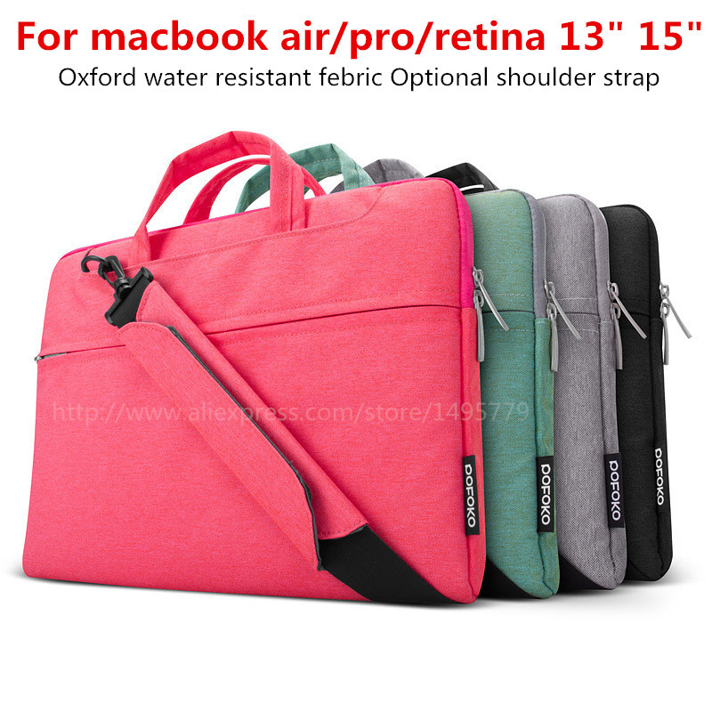 For font b Apple b font macbook pro 15 computer briefcase 14 inch Handbag Case 15