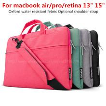 For Apple macbook pro 15 computer briefcase 14 inch Handbag Case 15.4″ Notebook Laptop bag Sleeve Women Messenger bags