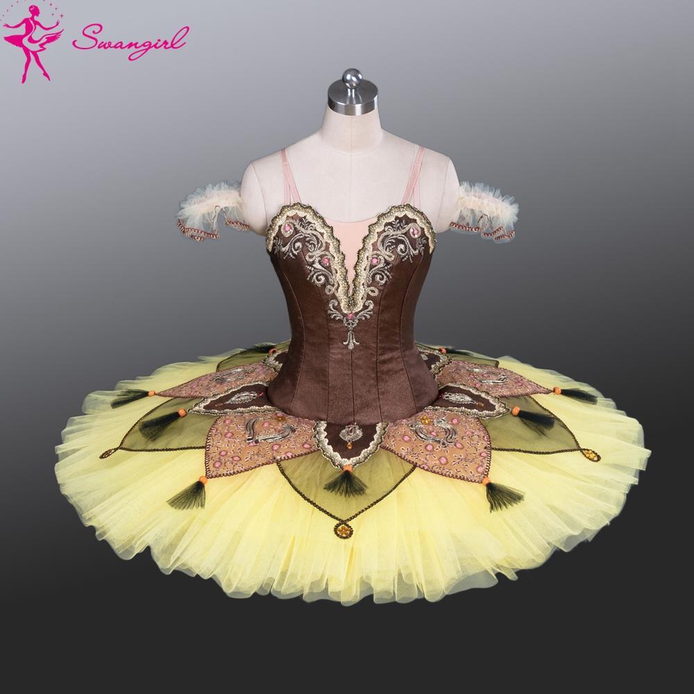 New Arrival! yellow professional platter tutu classical ballet tutu costume toddler dancewear adult tutu dressesBT9084Одежда и ак�е��уары<br><br><br>Aliexpress