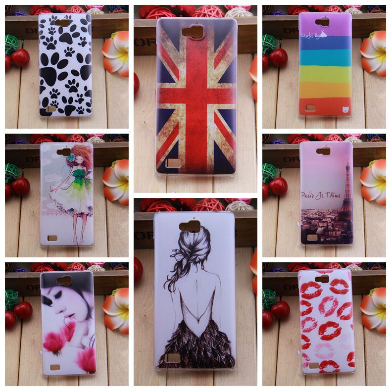 Fashion Painting Hard Plastic Case Huawei Honor 3C Back Cover Huawei Honor 3C(China (Mainland))