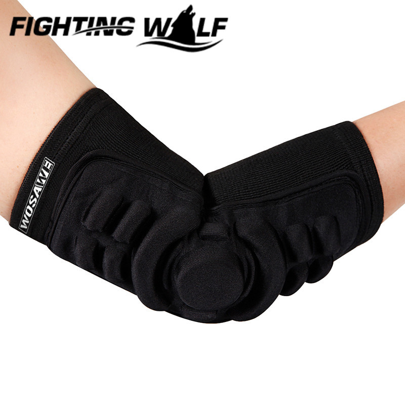 1 PC Cycling Safety Football Volleyball Basketball Elbow Pads Elbow Tactical Snowboarding Skating Extreme Sport Elbow Protector(China (Mainland))