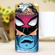 For mavel hero comic puzzle Design transparent case cover cell mobile phone cases for Apple iphone 6 6plus hard shell