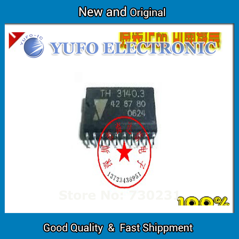 Free Shipping 2PCS TH TH3140 3140.3 car computer board chip auto ignition chip supporting electronic components YF60121(China (Mainland))