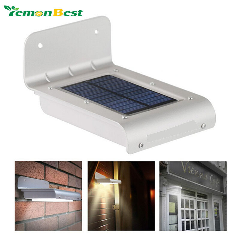 24 LED Motion Sensor Light Waterproof Solar Powered Lamp Wall Mount Lamp Night Light for Outdoor ...
