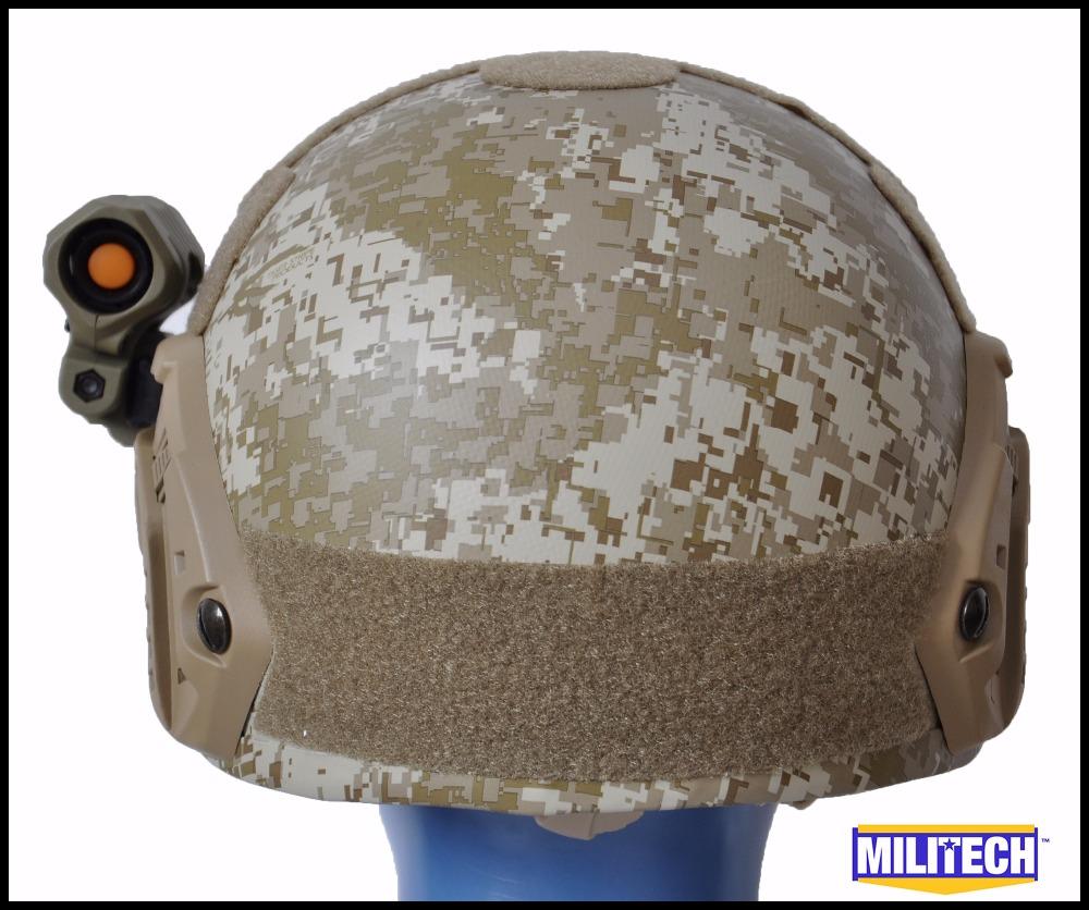 Free Shipping! Lrg/XLG NIJ level IIIA AOR1 Bulletproof Helmet (With Test Report) / Ops Core MARPAT Desert FAST Ballistic Helmet<br>