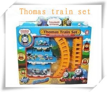 Thomas electric rail train Thomas & Friends Mini electric train set track toy for Kids with package 9300
